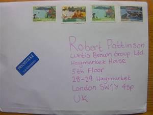Hur skriva adress till england