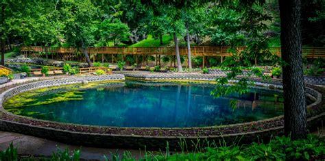 blue spring heritage center   secret garden
