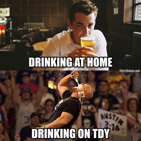 Drinking Memes - drinking at home vs drinking tdy navy memes clean mandatory fun