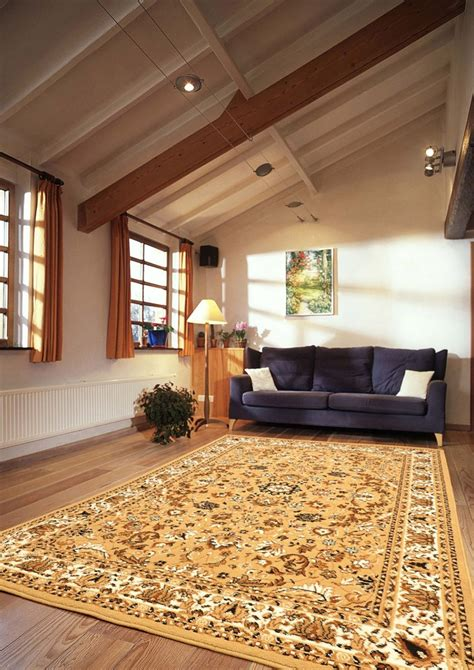 contemporary area rugs   patterned wooly material