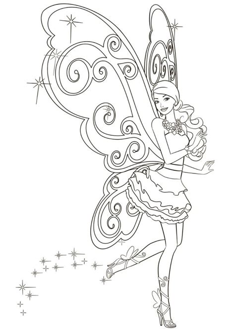 Dance of Fairy high quality free coloring from the