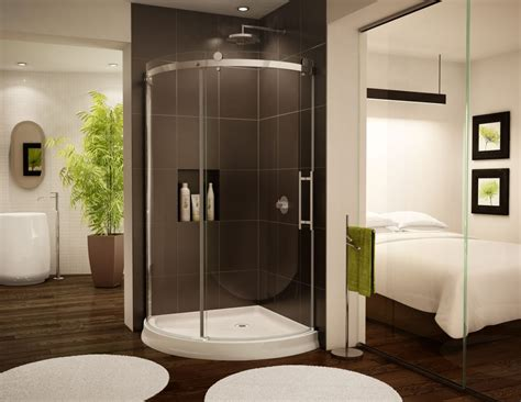 Curved Shower Door by Curved Bent Glass Shower Enclosures Cool But Can They