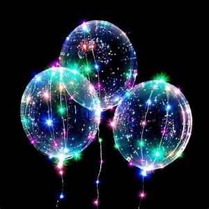 Led Ballon Lichter : mayoreo 10 globos luz led transparente 60cm pilas gratis en mercado libre ~ Yasmunasinghe.com Haus und Dekorationen