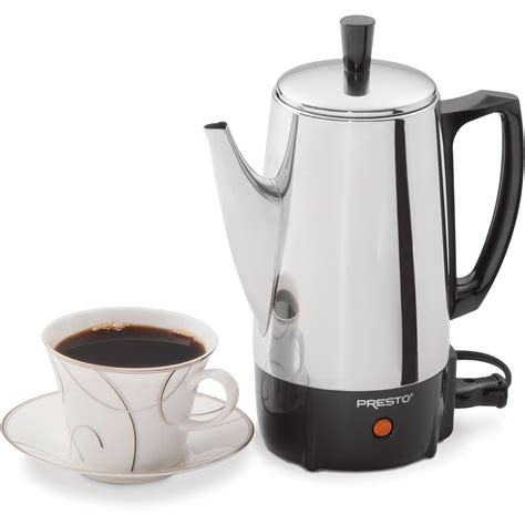 Presto 6-Cup Stainless Steel Coffee Maker | eBay
