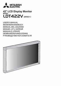 Mitsubishi Ldt422v Monitor Download Manual For Free Now