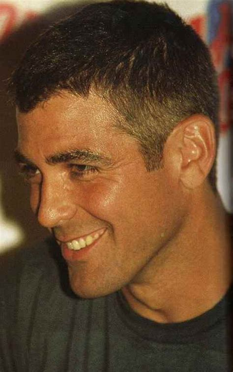 coolest george clooney haircut mens hairstyle swag