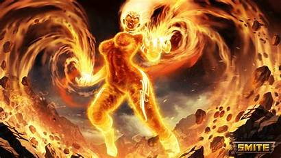 Smite Sol Norse Goddess Burn Pc