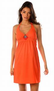 beachwear femme robe de plage orange collection 2017 With robe plage 2017