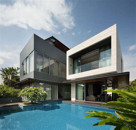 travertine house wallflower architecture design