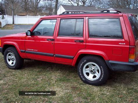 sports jeep cherokee 2001 jeep cherokee sport