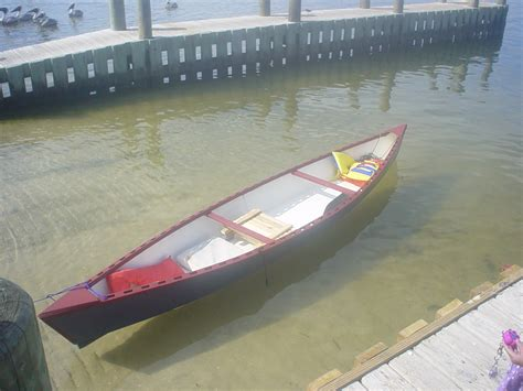 revisiting   friend home built wooden pirogue