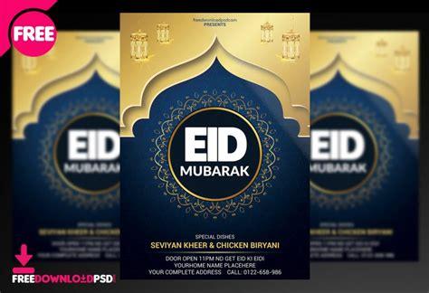eid flyer social media freedownloadpsdcom