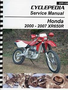 Honda Xr650r Service    Repair Manual  2000