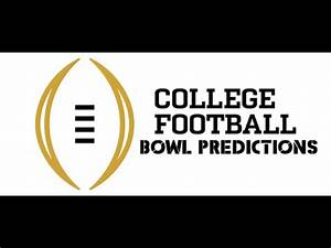 College Football Bowl Predictions 2015-2016 - YouTube