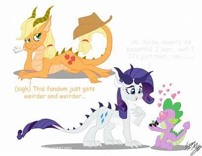 Dragon Mlp Ponies Pony Blood Dragons Deviantart