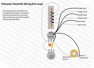 Nashville Tele Wiring Schematic