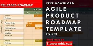 Project Planning Gantt Chart Excel Agile Product Roadmap Template For Excel Free Download