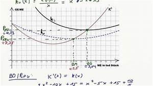 Kv Berechnen : betriebsoptimum betriebsminimum langfristige und ~ Themetempest.com Abrechnung