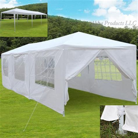 Canopy Tent Cover by Large 30 Reception Tent Canopy White Side Walls