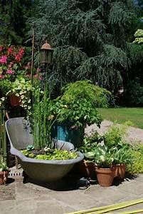 Objet Deco Exterieur : objet deco terrasse decoration bois pour jardin maison email ~ Carolinahurricanesstore.com Idées de Décoration