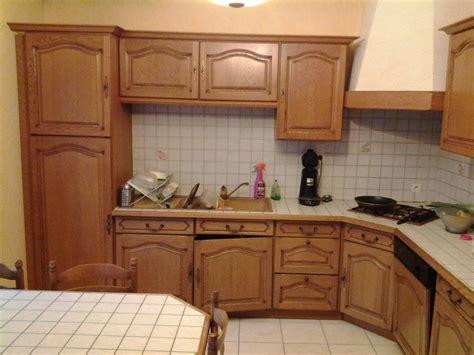 exemple de cuisine repeinte rénover une cuisine comment repeindre une cuisine en