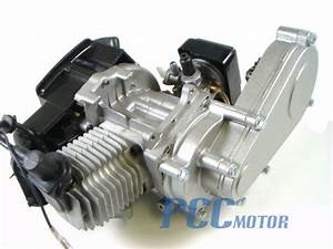 49cc Engine W  Transmission Pocket Mini Atv Bike Scooter