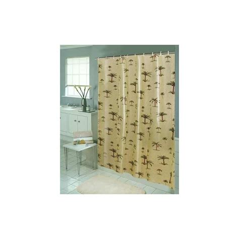 palm tree eva vinyl shower curtain curtain draperycom