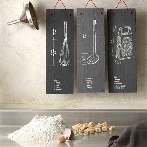 ardoise cuisine deco ardoise deco cuisine photos de conception de maison