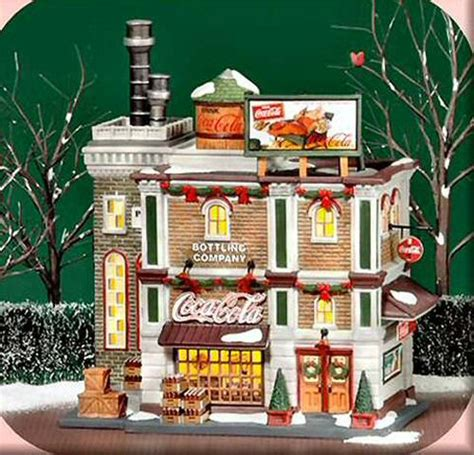 department 56 in the city retired coca cola bottling company new department dept 56