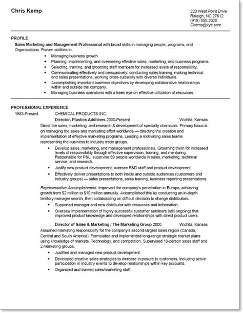 Mid Career Resume Sles by Resume Mid Level To Seasoned Professional Employers Salesjobs