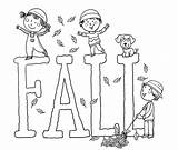 Coloring Fall Pages Printable Sheets Printables Autumn Colouring Crafts Worksheets Harvest Preschool Wuppsy Sheet Word Fun Craft Template Easy Leaves sketch template