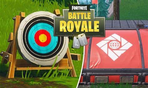 fortnite week  challenges shooting gallery score