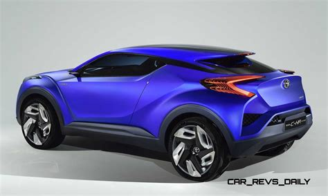 The development of the car began in 2013. Update1 With 30 New Photos - 2014 Toyota C-HR Concept