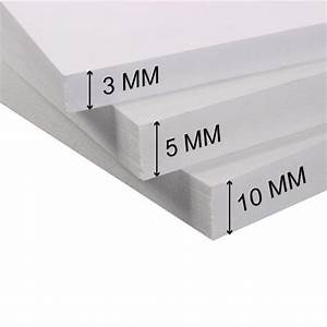 Panneau Pvc Blanc : plaque pvc 10mm plaque pvc expanse rigide blanc plaque ~ Dallasstarsshop.com Idées de Décoration