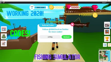 """Roblox is a massively multiplayer. """"NEW"""" FISHING SIMULATOR WORKING CODES! FEBRUARY 2020 ..."""