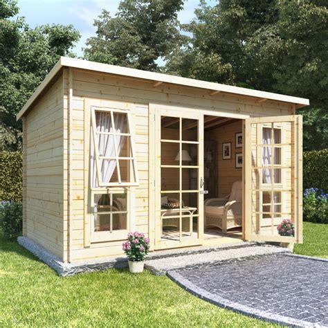 bike shed ideas billyoh skinner log cabin summerhouse 12x8 georgian dbl