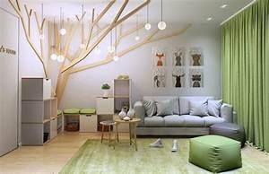 Decoration Murale Design : id e d co chambre enfant et propositions de d coration murale ~ Teatrodelosmanantiales.com Idées de Décoration