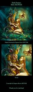 Dark, Fantasy, Illustration, On, Behance