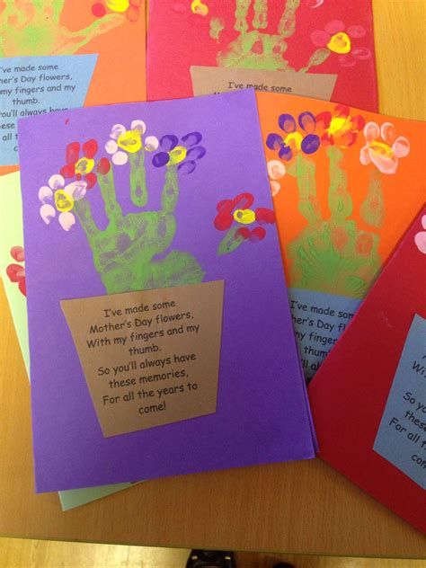 s day handprint card ideas s day handprint card and poem s day