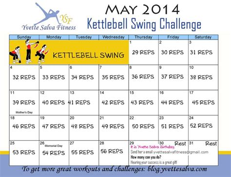 kettlebell challenge swing swings workout month birthday rusa work ready 29th challenges way exercise pesa rusas lets yvette workouts then