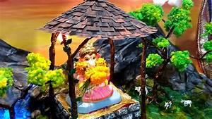Ganpati bappa decoration ideas - YouTube