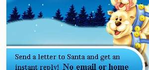 write a letter to santa online and get an instant reply With send santa a letter and get a video reply