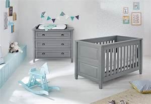Babyzimmer 2 Teilig : pinolino babyzimmer set 2 tlg sparset grisu breit online kaufen otto ~ Frokenaadalensverden.com Haus und Dekorationen