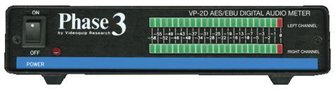 Phase Digital Audio Meter