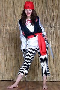 Karnevalskostüme Damen Selber Machen : piraten kost m damen piratin freibeuterin hose oberteil ~ Lizthompson.info Haus und Dekorationen