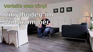 Vinylboden Auf Fliesen : vinylboden im wohnzimmer youtube ~ Watch28wear.com Haus und Dekorationen