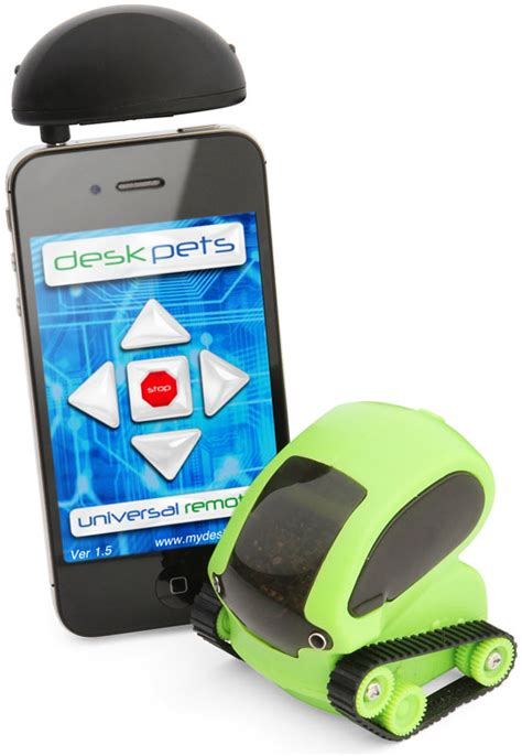 smartphone controlled toys smartphone controlled desk pet tankbots thinkgeek