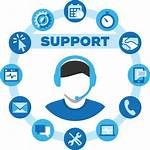 Support Icons Remote Computer Services Business Assistance