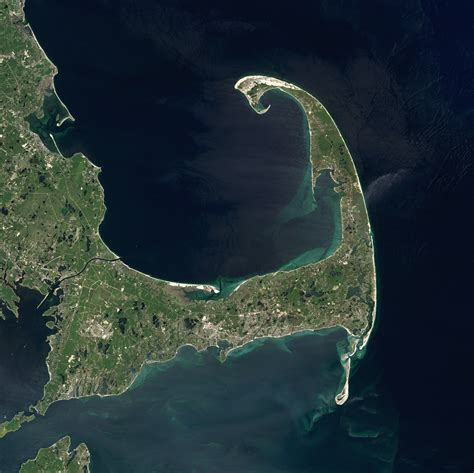 Changes On The Cape Cod Coastline  Image Of The Day