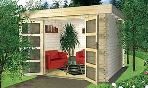 le top des abris de jardin 45 idees design archzinefr With maison bois toit plat 18 le top des abris de jardin 45 idees design archzine fr